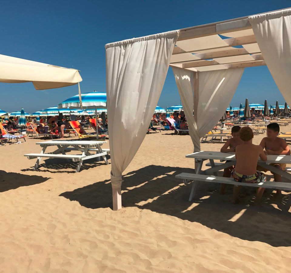 Spiaggia del Residence Villa Azzurra